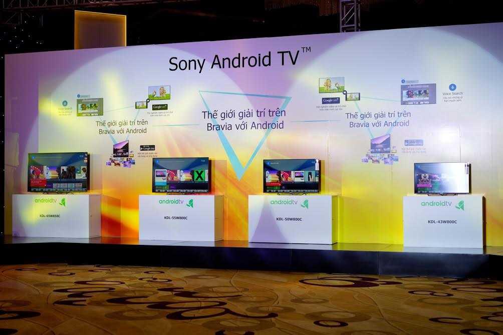 Một loạt các sản phẩm mới của Sony được giới thiệu tới khách hàng Việt