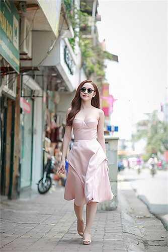 Nữ diễn viên Angela Phương Trinh đã tham gia một event tại Hà Nội