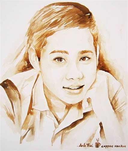 Võ Quốc Vẹn sinh (1994), quê Tiền Giang, hiện học ngành Thiết kế Nội thất, ĐH Hutech, TP HCM. 9X này chưa từng qua bất cứ trường lớp đào tạo vẽ tranh. Mới đây, Vẹn đăng tải bộ ảnh vẽ bạn bè bằng màu cà phê, thu hút hơn 5.000 lượt yêu thích.