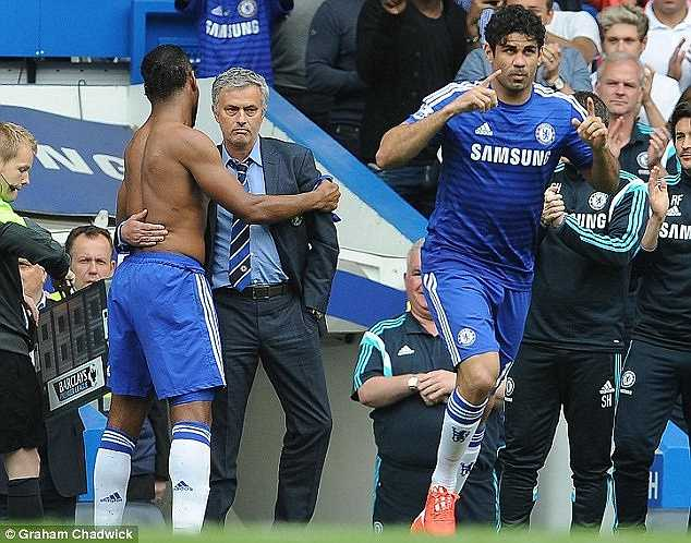 Drogba chia tay Chelsea.