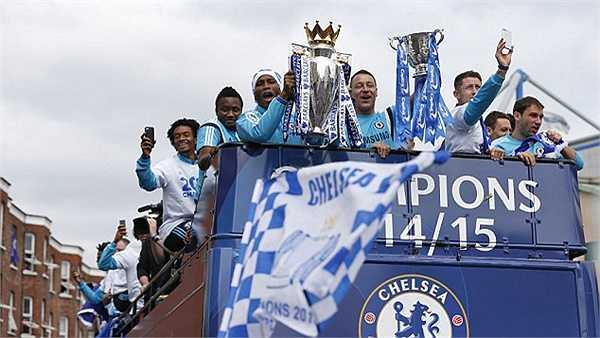 Danh hiệu vô địch thứ 4 của Chelsea thời Mourinho