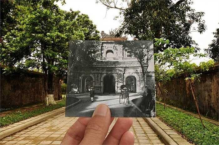 Cổng Hiển Nhơn, Huế thập niên 20 của thế kỷ 20