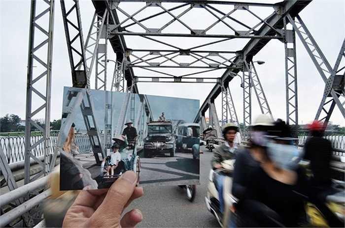 Một góc nhìn khác về cầu Trường Tiền giữa hiện tại và quá khứ