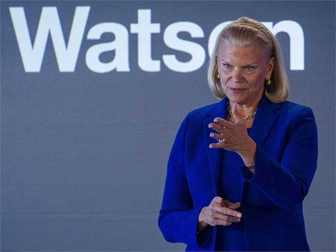 4. IBM. Vị trí năm ngoái: 3, giá trị hiện tại: 94 tỷ USD. Một số vụ làm ăn lỗ của công ty này đã khiến họ đánh mất vị trí thứ 3 có được năm ngoái vào tay 'kẻ thù' Microsoft
