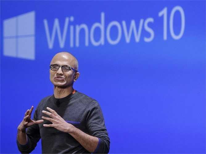3. Microsoft. Vị trí năm ngoái:4, giá trị hiện tại: 115 tỷ USD. Vị thuyền trưởng mới Satya Nadella có vẻ như đang làm rất tốt công việc của mình để đưa gã khổng lồ Microsoft trở lại với cuộc đua thương hiệu