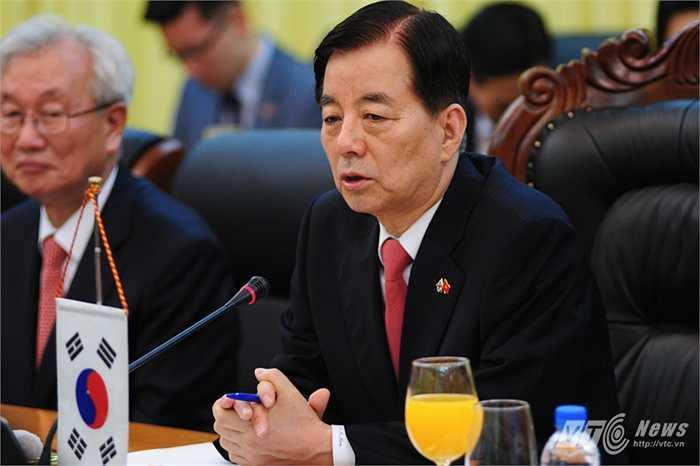 Bộ trưởng Quốc phòng Hàn Quốc Han Min Koo