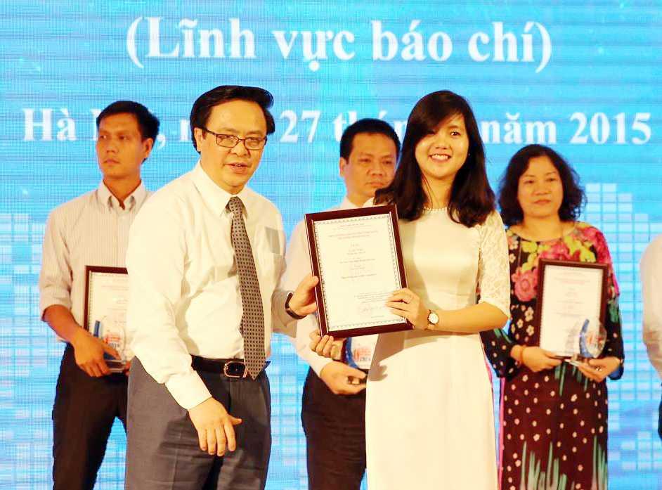 VTC News nhận giải