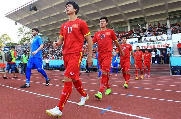 Tiền đạo Nguyễn Công Phượng - U23 Việt Nam (20 tuổi)