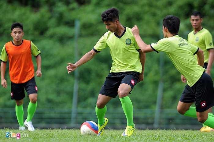 Anh chính là niềm hy vọng số 1 của Brunei ở SEA Games này. (Hà Thành - tổng hợp)