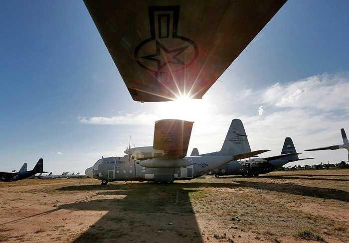 Máy bay vận tải C-130 đã nghỉ hưu