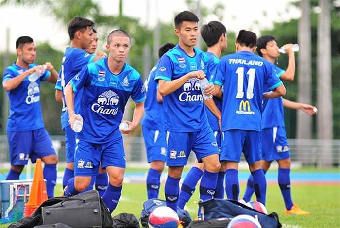 U23 Thái Lan dự SEA Games có sự tăng cường của 6 tuyển thủ vừa tham dự trận đấu gặp Việt Nam ngày 24/5 vừa rồi là Chanathip, Narubadin, Tanaboon, Peerapat, Sarat và Chanin.