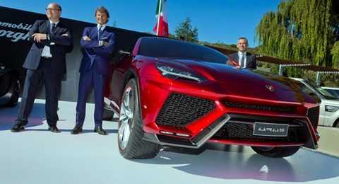 Mẫu SUV của Lamborghini sẽ ra mắt vào năm 2018 và sản xuất tại Ý