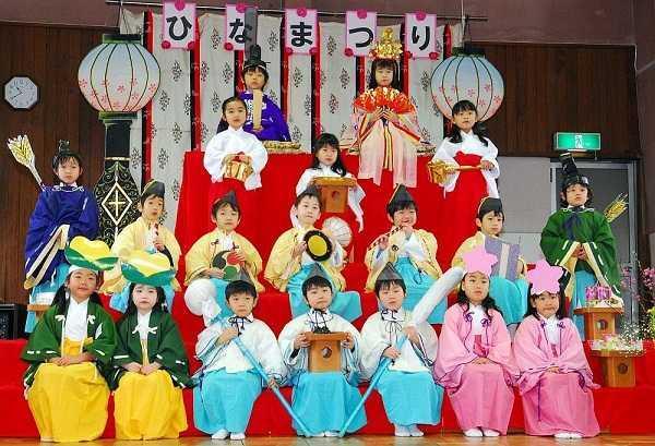 lễ hội bé trai bé gái Nhật