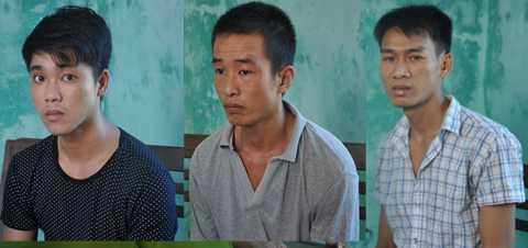 bắt khẩn cấp, nhóm đối tượng,trộm két sắt, Quảng Nam, dùng xà ben