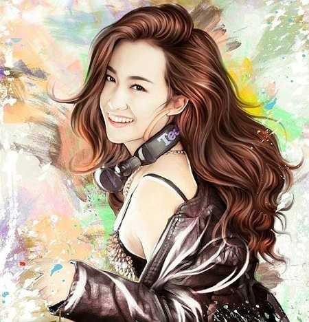 Chân dung nữ DJ Hà thành - Trang Moon.