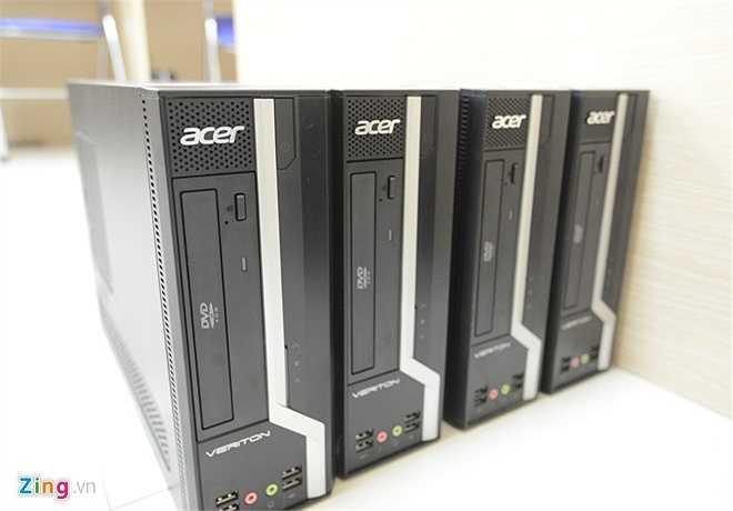 Số cây máy tính dự phòng cũng được hội đồng thi cất giữ cẩn thận, chuẩn bị cho những trường hợp xấu xảy ra.