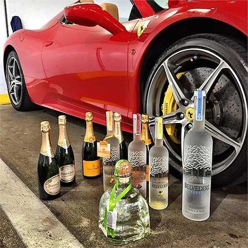 Những loại rượu này hầu như đều là rượu mạnh, đắt tiền và được họ dùng cho những bữa tiệc thâu đêm suốt sáng.