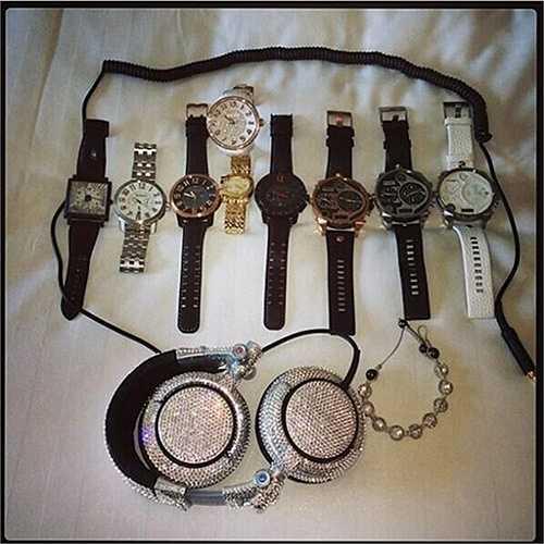 Bộ sưu tập đồng hồ khiến nhiều người choáng ngợp của Chris Gayle