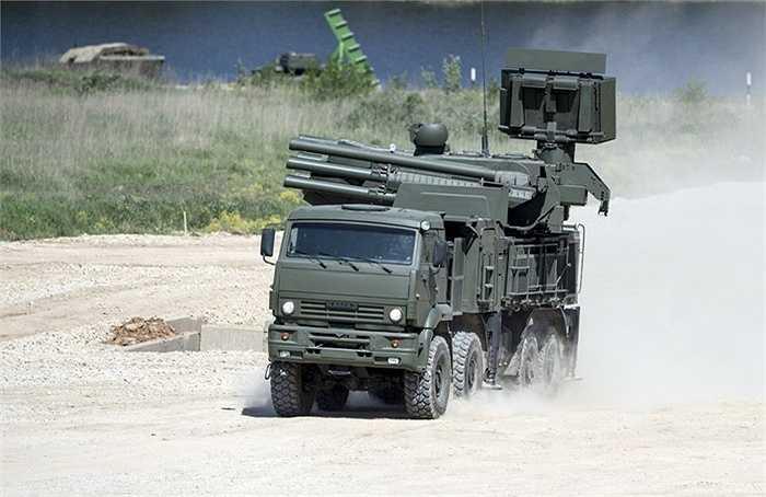 Hệ thống tên lửa Pantsir-S1