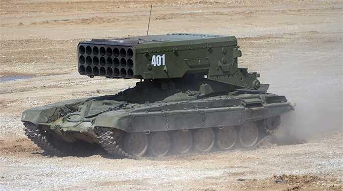 Hệ thống phóng tên lửa TOS-1A Solntsepek
