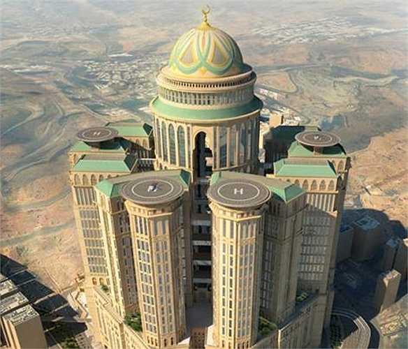 Abraj Kudai là khách sạn sắp được xây dựng ở Mecca (Ả Rập Xê Út) để trở thành khách sạn sang trọng bậc nhất thế giới vào năm 2017.