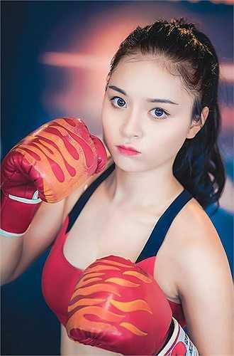Để có thân hình săn chắc, Ngọc Anh cho biết cô dành rất nhiều thời gian cho việc tập luyện thể dục, thể thao.(Nguồn: Dân Việt)