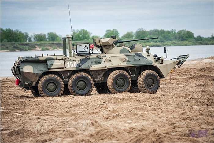 Tên mới của loại xe này là BTR-82 thay vì BTR-80 như thời trước