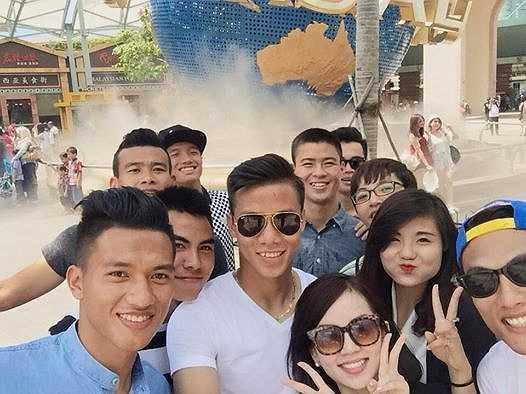 Thường xuyên phải tập luyện vất vả nên quãng nghỉ này là vô cùng quý giá với cầu thủ U23 Việt Nam