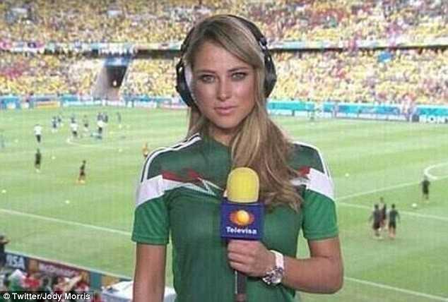 Nữ phóng viên xinh đẹp Mexico, Ines Sainz từng qua lại với Ronaldo