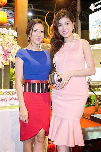 'Gái một con' Oanh Yến đọ sắc cùng Hoa hậu Thu Hoài.