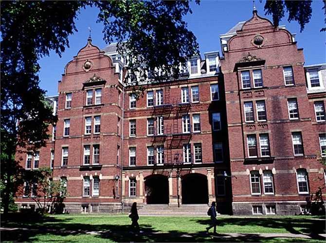 2. Đại học Harvard    Số tỷ phú: 22