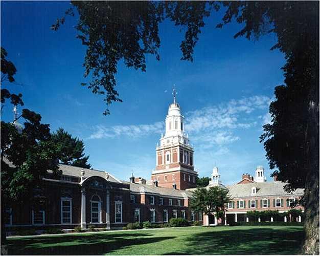 3. Đại học Yale    Số tỷ phú: 20