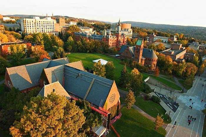 6. Đại học Cornell    Số tỷ phú: 14