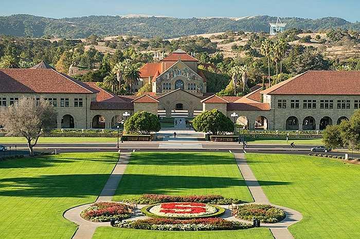 7. Đại học Stanford    Số tỷ phú: 14
