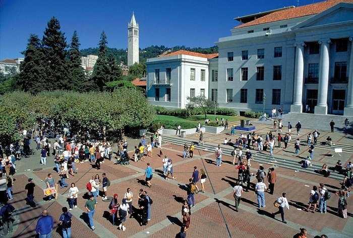 8. Đại học California, Berkeley    Số tỷ phú: 12