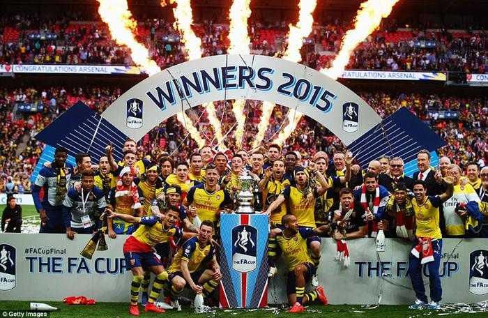 Arsenal đăng quang xứng đáng tại FA Cup