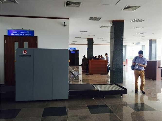 Khu vực kiểm tra an ninh hành lý