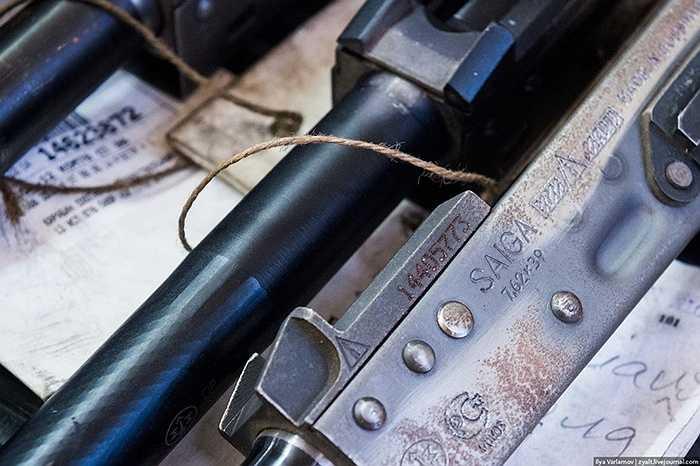 Kiểm soát chất lượng của súng là rất nghiêm ngặt.