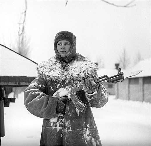 Canh phòng bảo vệ biên giới phía Bắc của Liên bang Xô-viết