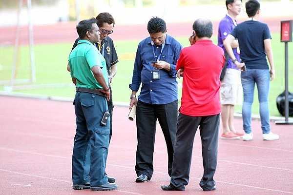 Buổi tập kín của U23 Việt Nam được bảo vệ nghiêm ngặt