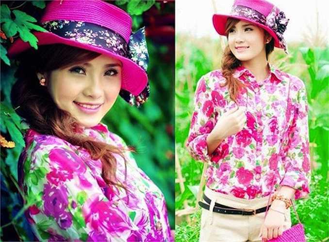 Thay đổi ngoại hình nhanh chóng giúp Khánh Chi trở thành một mẫu ảnh và có những bước tiến nhất định trong showbiz.