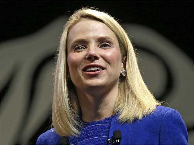 Marissa Mayer, Yahoo, tiền lương 42,1 triệu USD: Tiền lương của bà Marissa đã tăng 69% trong năm ngoái. Cổ phiếu của hãng này tăng hơn 177% từ khi bà làm việc ở đây