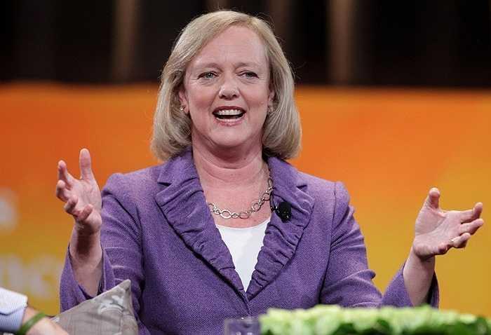 Margaret Whitma, CEO của hãng HP, tiền lương 19,6 triệu USD tăng 11%. Bà từng là CEO của eBay nhưng sau khi thất bại vào vị trí thống đốc California đã chuyển sang HP