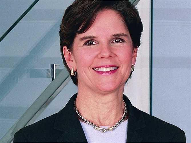 Phebe Novakovic, CEO General Dynamics, tiền lương 19 triệu USD tăng 1%. Từ khi bà lên làm CEO, giá trị cổ phiếu công ty này tăng gấp đôi
