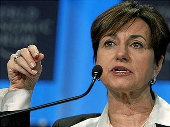 Patricia Woertz, CEO của Archer Daniels Midland, tiền lương 16,3 triệu USD, tăng 138% so với năm ngoái