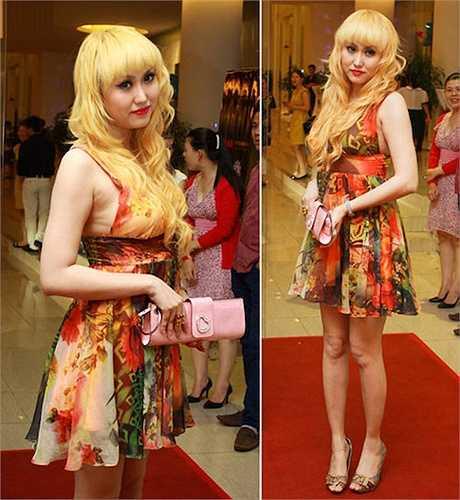 Ngoài làn da, ngoại hình của Phi Thanh Vân cũng thay đổi đáng kể. Gương mặt cô trở nên bầu bĩnh, bớt góc cạnh.