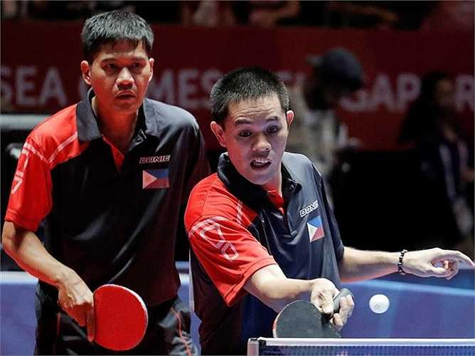 Vào tứ kết, Trần Tuấn Quỳnh và Nguyễn Anh Tú đã thắng cặp Lim Sok Long và Nay Saravey của Campuchia với tỷ số 3-0 (11-6, 12-10, 11-7), qua đó giành quyền vào bán kết.