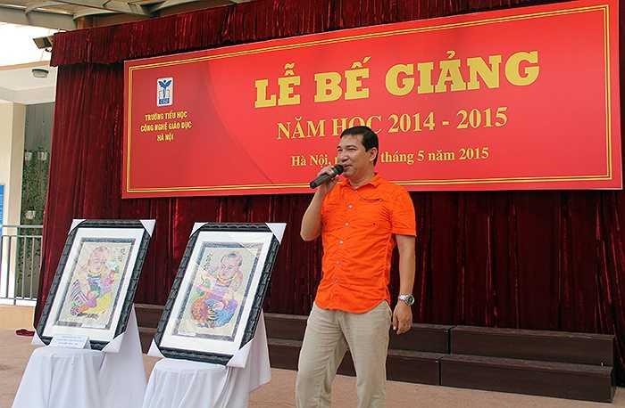 Buổi tổng kết và đấu giá có sự tham gia của nghệ sỹ hài Quang Thắng