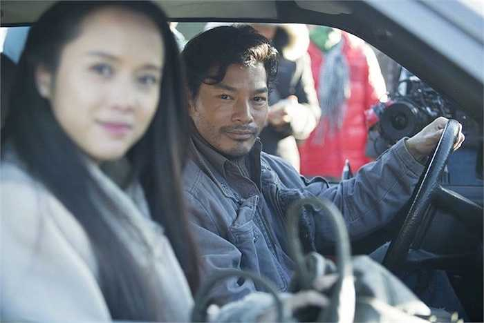 Trong phim 'Quyên', vào vai Hùng – một gã giang hồ máu lạnh bị chinh phục bởi tình yêu với người đàn bà tên Quyên do chính hắn ta giam cầm và làm nhục (Vũ Ngọc Anh – top 5 Hoa hậu Việt Nam 2012 thủ vai).