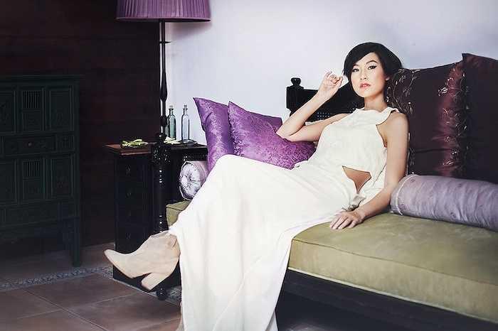 Kathy Uyên là một trong những nữ diễn viên gốc Việt thành công khi trở về hoạt động ở quê nhà.